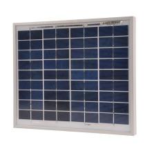 Solpanel 10W med 2A regulator