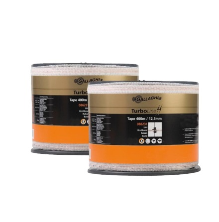 Duopack TurboLine band 12,5mm 2x400m